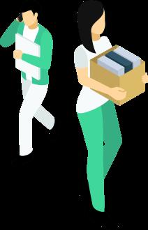 領収書の整理、及び経理